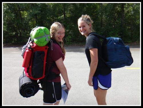 carli and lindsay pre hike